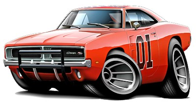 general lee charger muscle car cartoon tshirt free ebay rh ebay co uk cartoon drawings of muscle cars Muscle Car Drawings