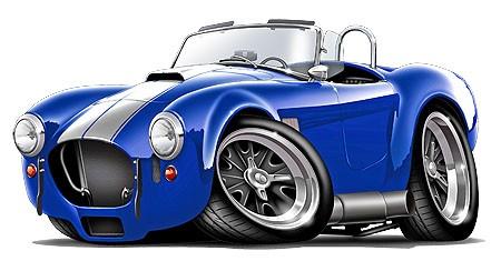 AC-Cobra-Kit-Car-Muscle-Car-Cartoon-Tshirt-FREE