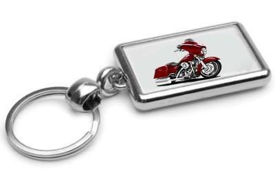 Street-Glide-Motorcycle-Car-toon-Keychain-NEW