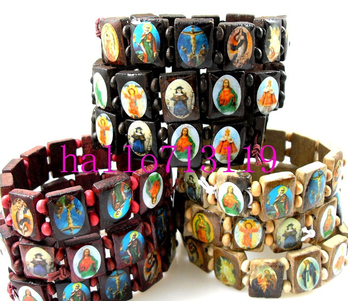 SAINT BRACELETS BY SAINTBEADS ON ETSY