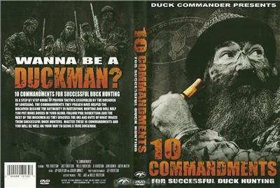 Duck Commander 10 Commandments for Succcessful Hunting Duck Dynasty ...