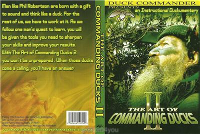 Duck Commander Art of Commanding Ducks II Hunting Duck Dynasty DVD NEW