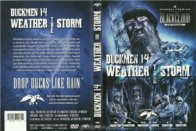 Duck Commander Hunting Weather the Storm Duck Dynasty DVD NEW