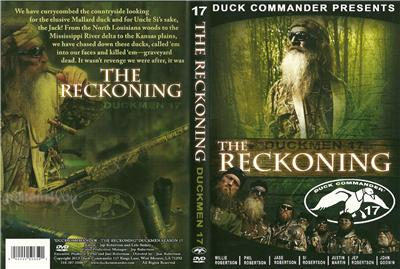 Duck Commander Duckmen 17 The Reckoning Hunting Duck Dynasty NEW DVD