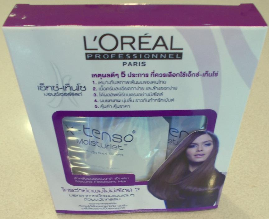 l oreal x tenso instructions