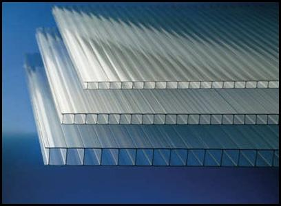 POLYCARBONATE MACROLUX Double Wall  CLEAR COVER FOR GREENHOUSES - GEODESIC DOMES
