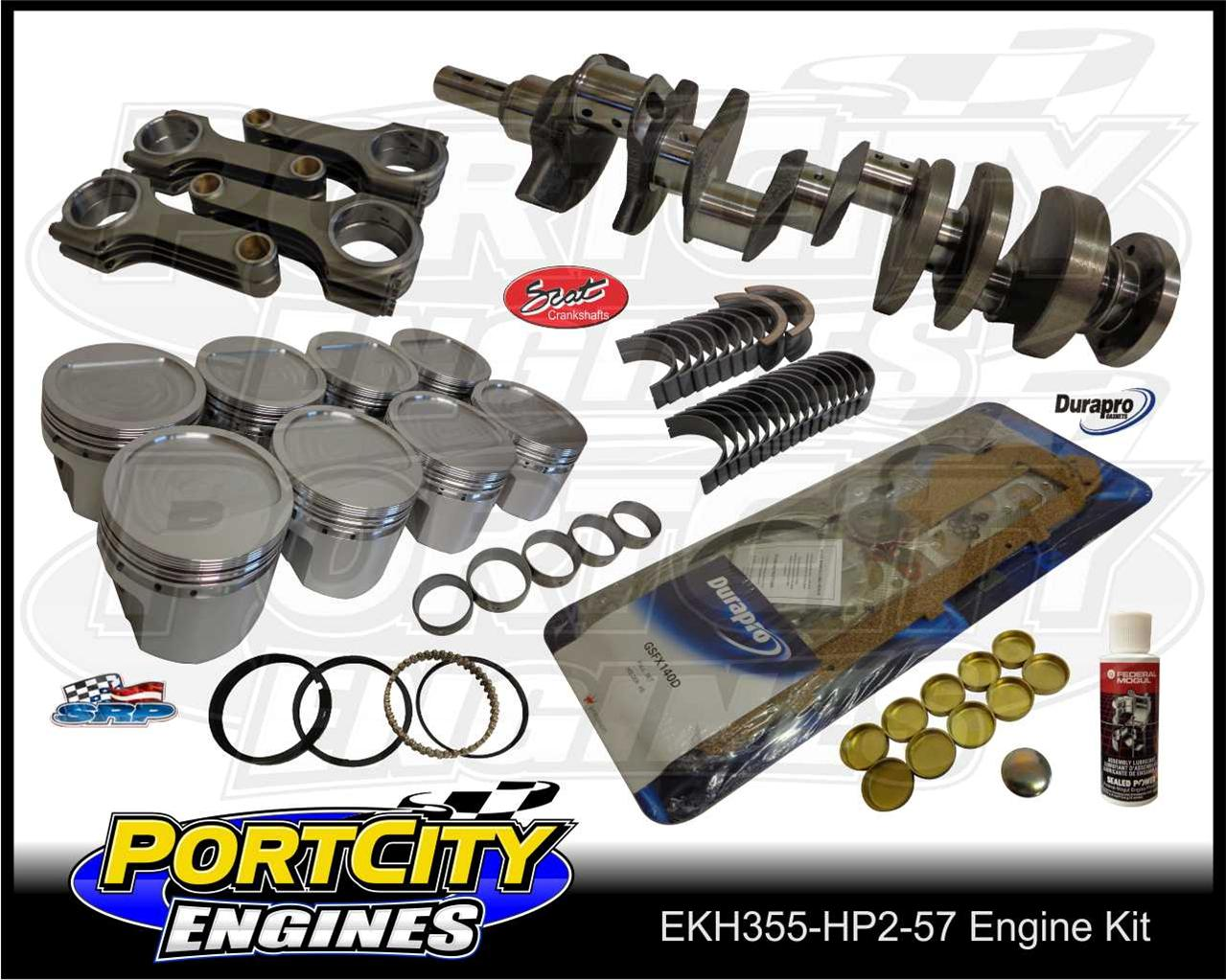 Stroker-engine-kit-for-Holden-308-Scat-Forged-5-7-H-Beam-355-V8-Torana-LH-LX