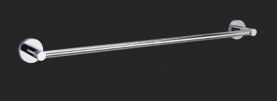 Lollypop 750mm Brass Chrome Single Towel Rail RC-7202