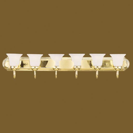 Book of brass bathroom light fixtures in thailand by emma for 6 light bathroom fixture