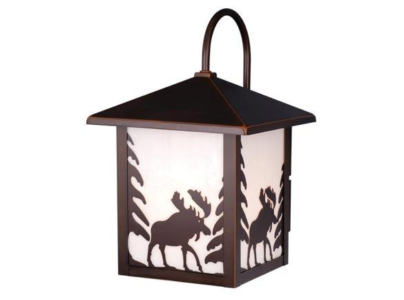 Rustic Lodge Outdoor Wall Sconce Yellowstone Lighting
