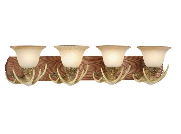 Vanity Lodge Country Vaxcel Wall Sconce Antler Lighting