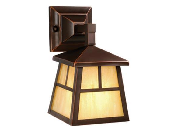 Small Wall Outdoor Vaxcel Fixture Mission Landscape Bronze Lighting OW37263BB