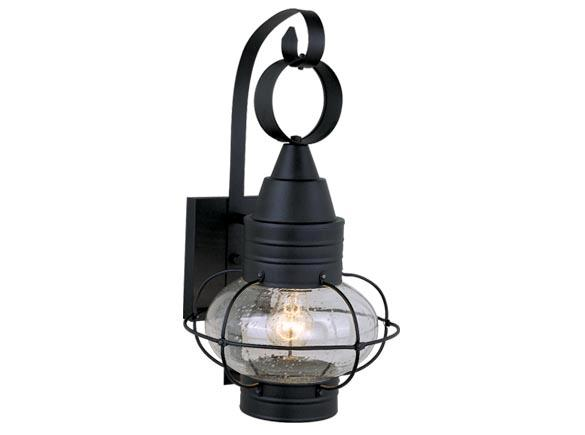 13w large onion black outdoor lamp nautical lighting vaxcel chatham. Black Bedroom Furniture Sets. Home Design Ideas