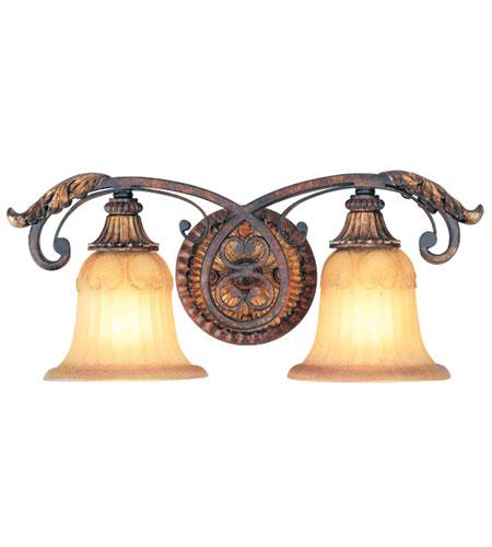 new livex rustic bathroom vanity lighting fixture villa verona in bronze 8552-63 eBay