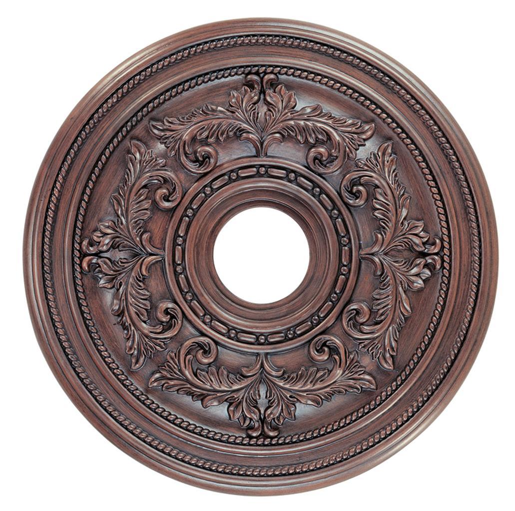 Ceiling Medallion Lighting Fixture Imperial Bronze Livex