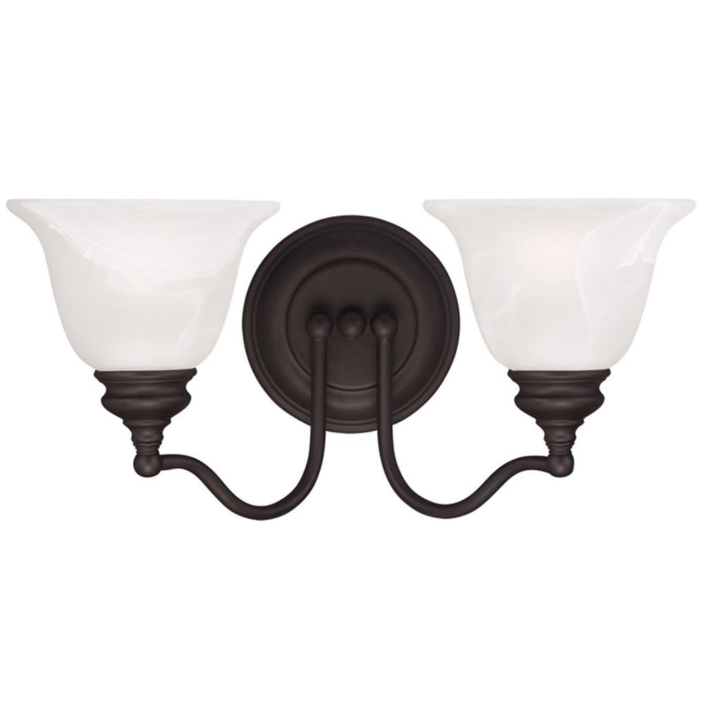 light contemporary bronze bathroom vanity livex essex lighting fixture