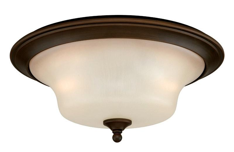 Venetian Bronze Vaxcel 2 Light Sonora Flush Mount Ceiling