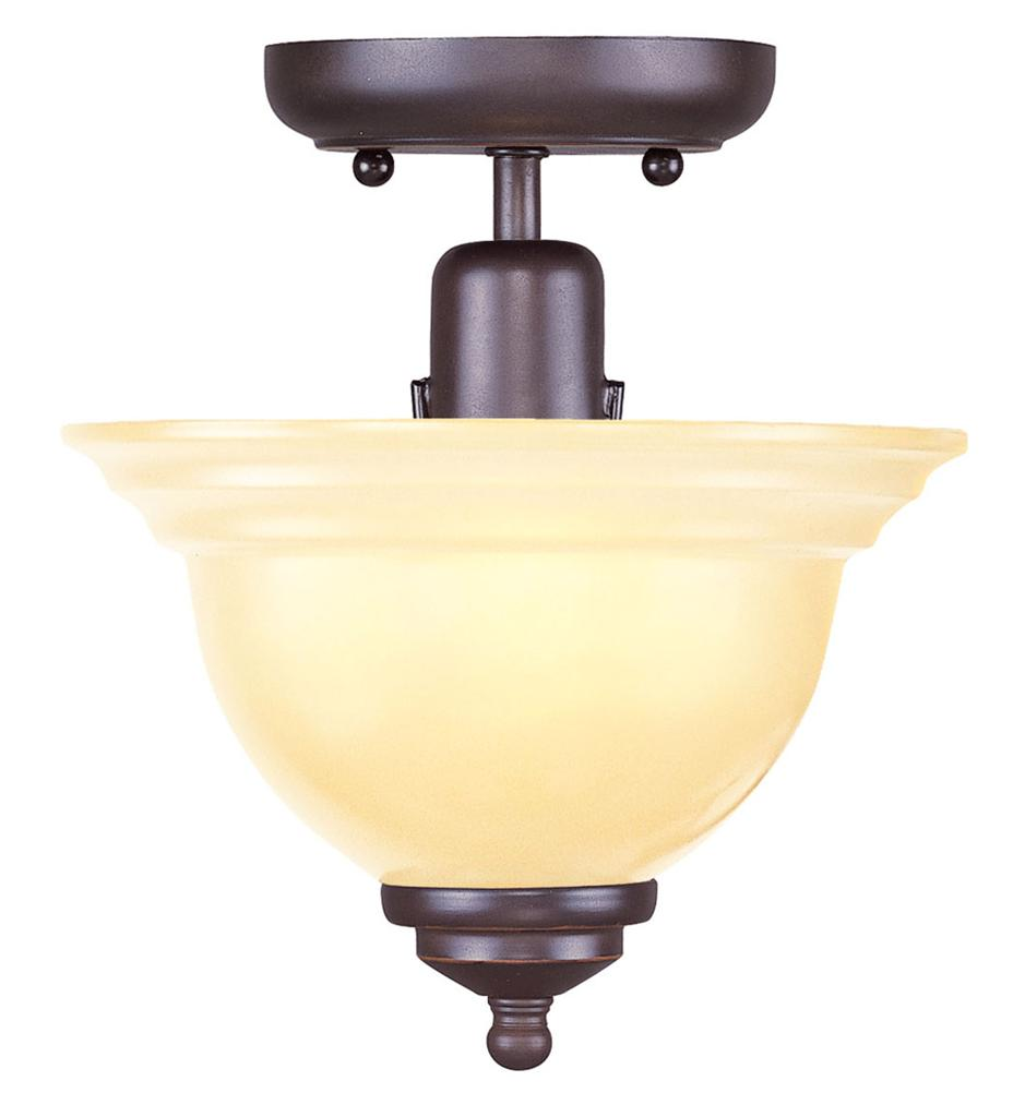 olde bronze livex northport semi flush mount ceiling