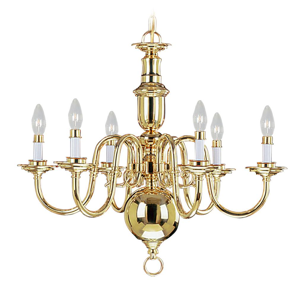 Vanity Lights Beacon : 6 Light Livex Beacon Hill Polished Brass Chandelier Ceiling Fixture Sale 5306-02 eBay