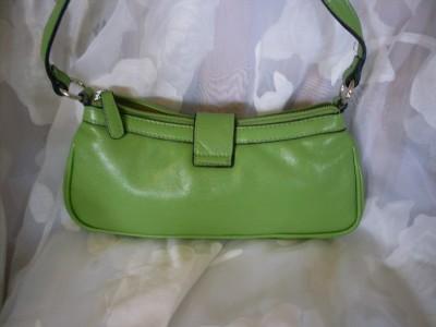 XOXO Beautiful Compact & Cute Green Hobo Handbag