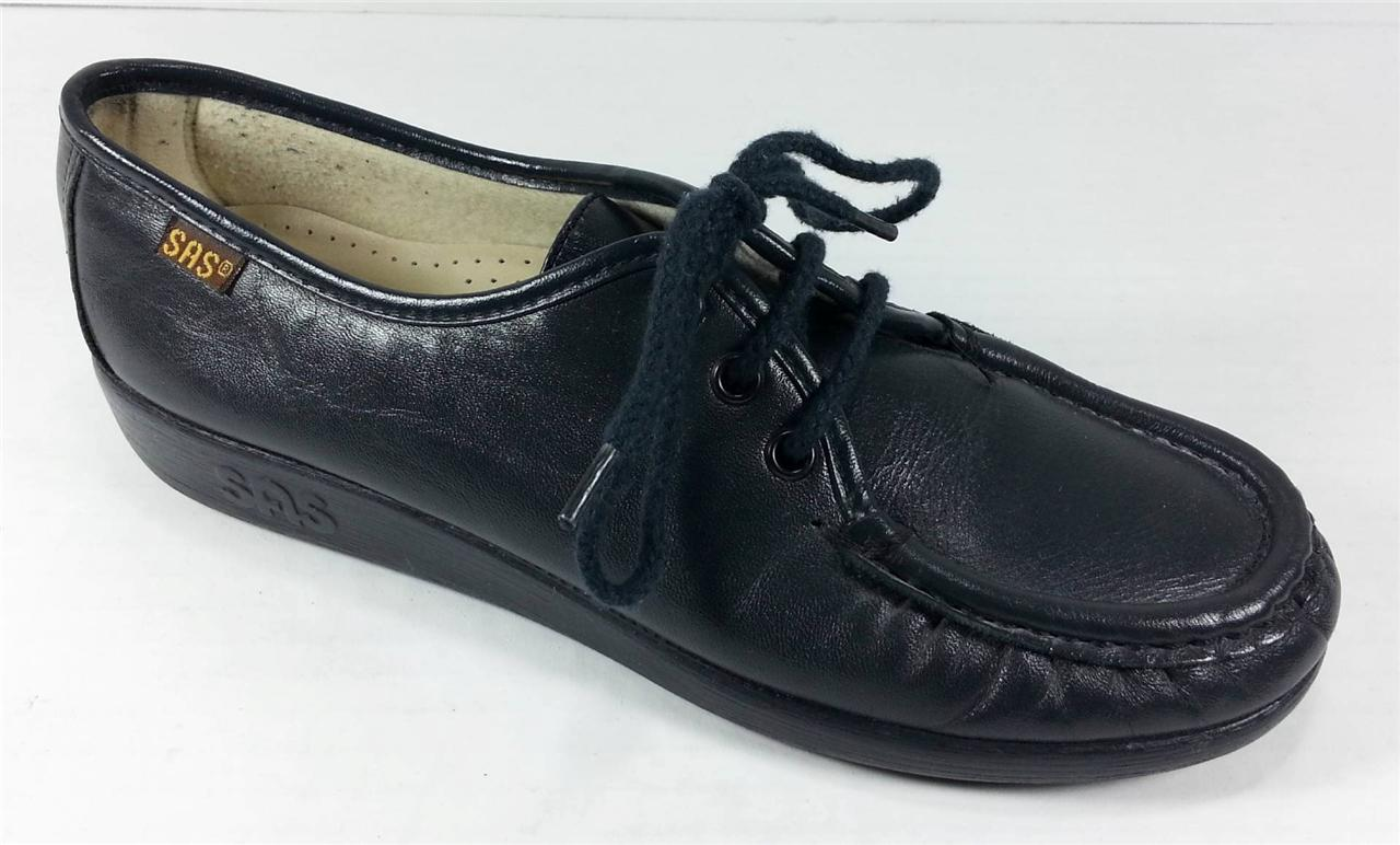 Details about SAS Tripad Women's Size 8 W Black Siesta Classic Lace-up