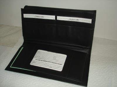 Nascar leather checkbook wallet circuit diagram maker for Yamaha leather wallet