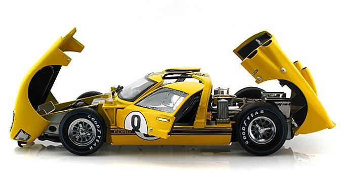 1966-Shelby-Ford-GT-40-MK11-Hard-Top-8-1-18-scale-diecast-model-car-new-line