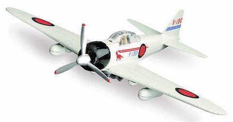 Sky-Pilot-Zero-Fighter-plane-model-kit-no-glue-required-for-assembly-yrs-8