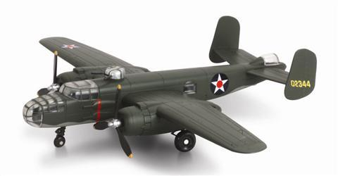 Sky-Pilot-B-25-Mitchell-plane-model-kit-no-glue-required-for-assembly-yrs-8