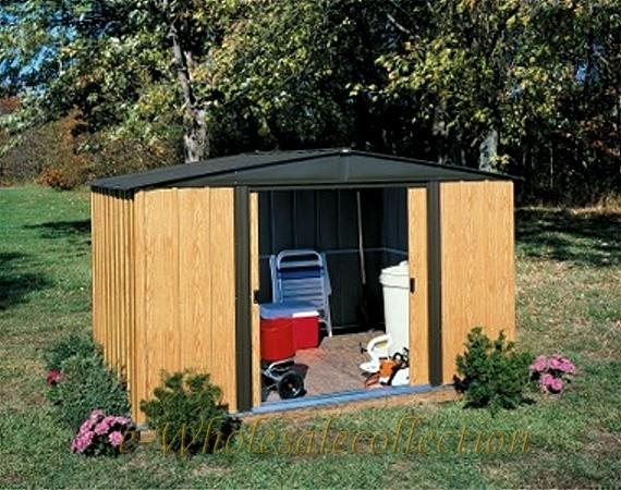 Harsley complete fast framer universal storage shed for Abri jardin resine 5m2
