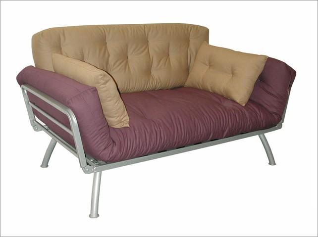 Dorm Living Bed Room Futon Sofa Set Twin Mattress
