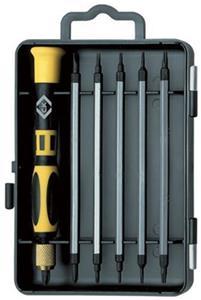 ck precision multi blade screwdriver set kit t4896 ebay. Black Bedroom Furniture Sets. Home Design Ideas