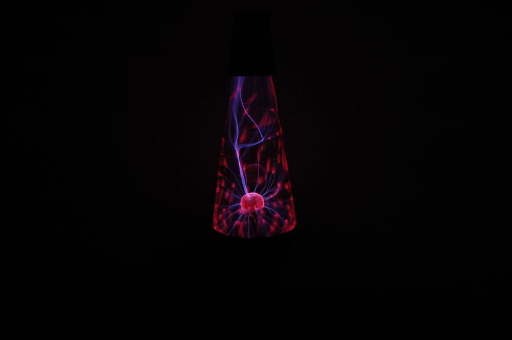 Lava Brand MEGA Electro Plasma Lamp Globe w/Black Base & Cap | eBay
