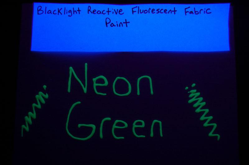 tulip glow in the dark fabric paint instructions