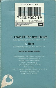 Tasmin Archer - Lords Of The New Church / Hero