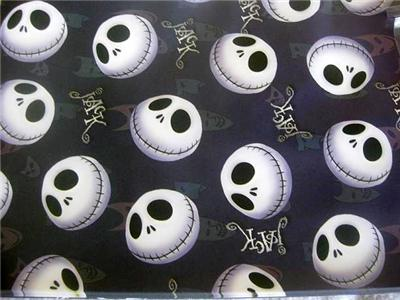 Details about Nightmare Before Christmas Party WRAPPING PAPER GIFT x6
