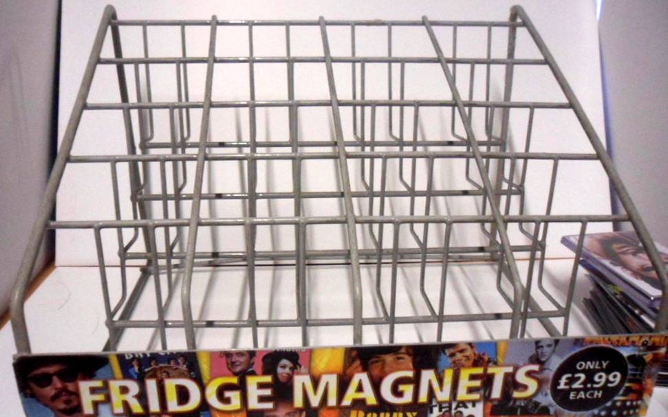 Fridge Magnet Display Rack Stand From Clinton Great For