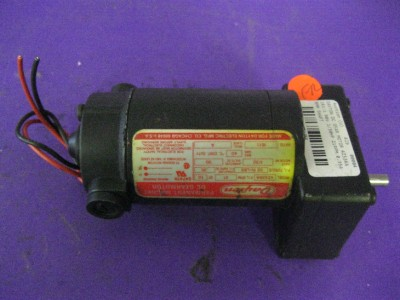 Dayton Dc Gear Motor 4z536a 161 1 90v 1 30hp 21rpm 8mm