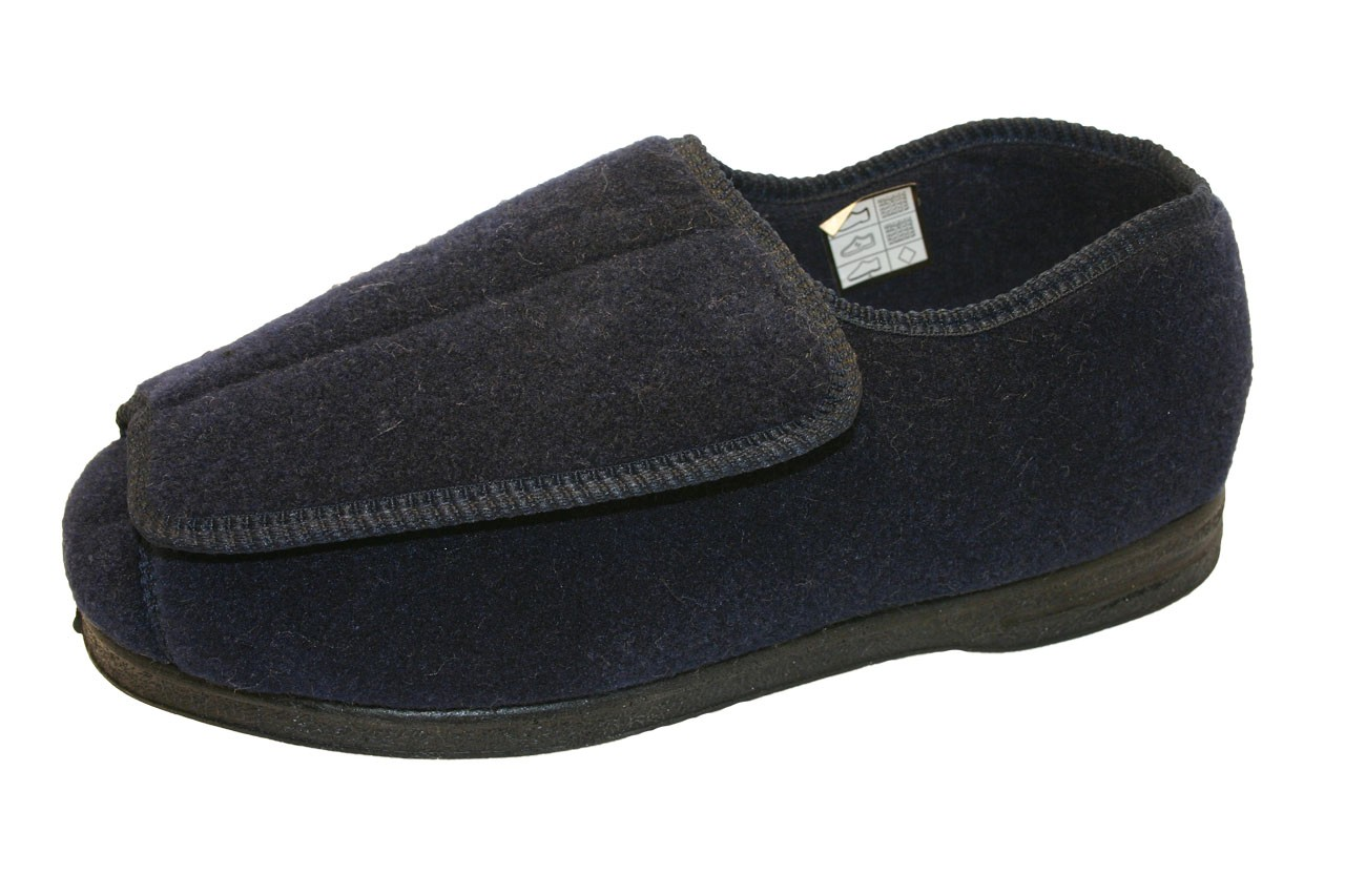 Mens Bedroom Shoes Wide