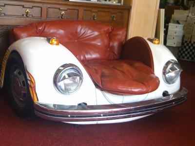 Volkswagen Beetle Car Chair Vintage Art Furniture Ebay