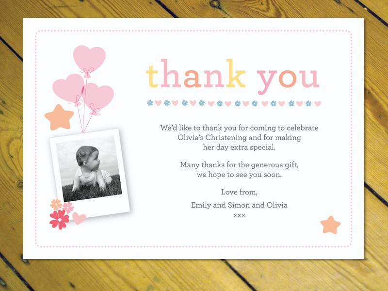 personalized thank you letter