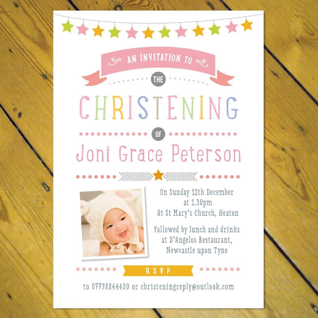 Personalised christening naming day invitations girl boy photo ebay personalised christening naming day invitations girl boy photo stopboris Choice Image