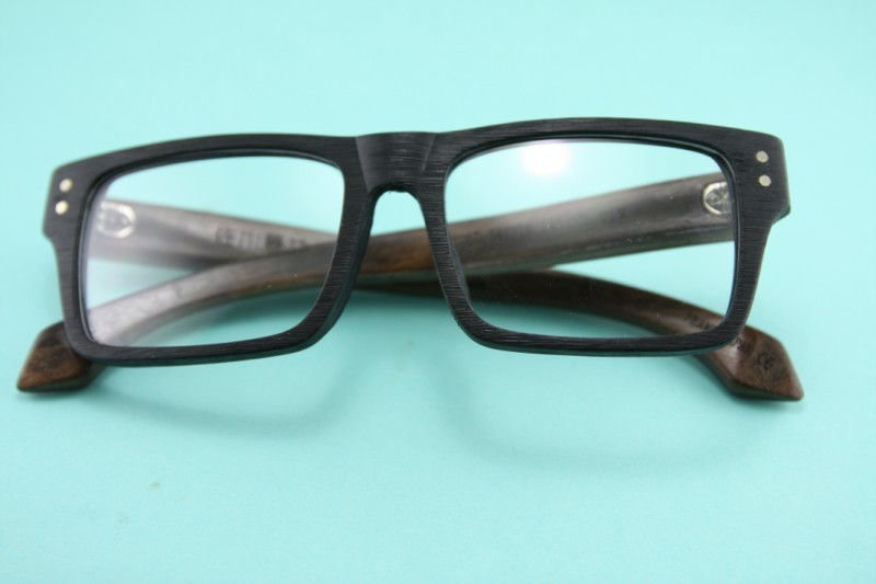 8282 SAGAWA FUJII real wood Temple eyeglass glasses ...