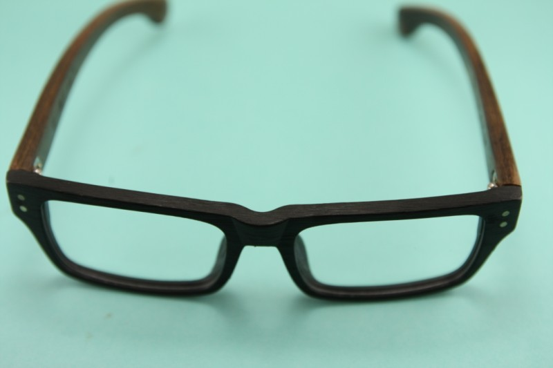 8282 SAGAWA FUJII real wood Temple eyeglass glasses ...