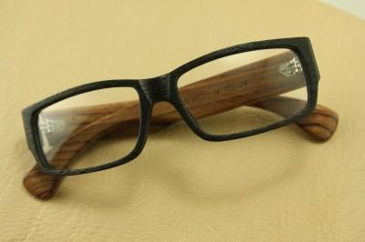 Japanese Plastic Eyeglass Frames : SAGAWA FUJII Real Wood Temple eyeglass glass Plastic 8315 ...