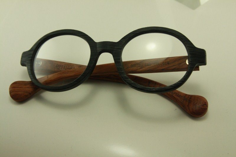 SAGAWA FUJII real wood Temple eyeglass GLASSES 8332 ...