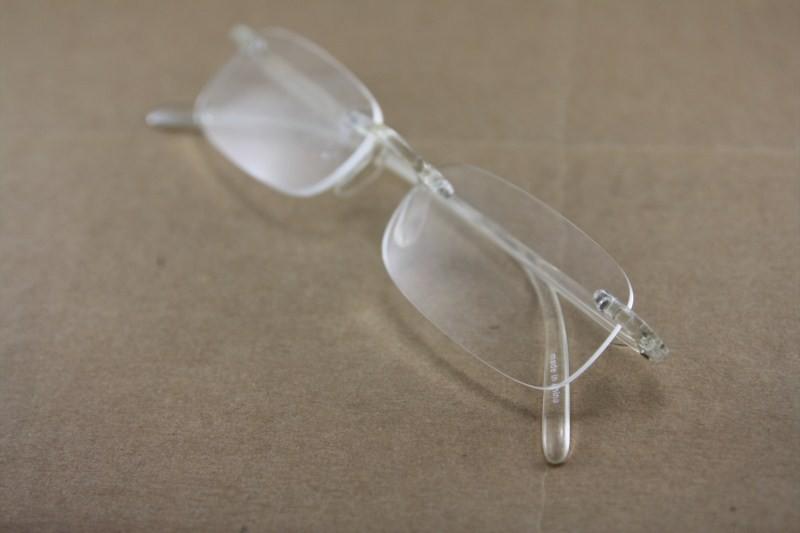 Flexible super light reading glasses plastic frame rimless ...