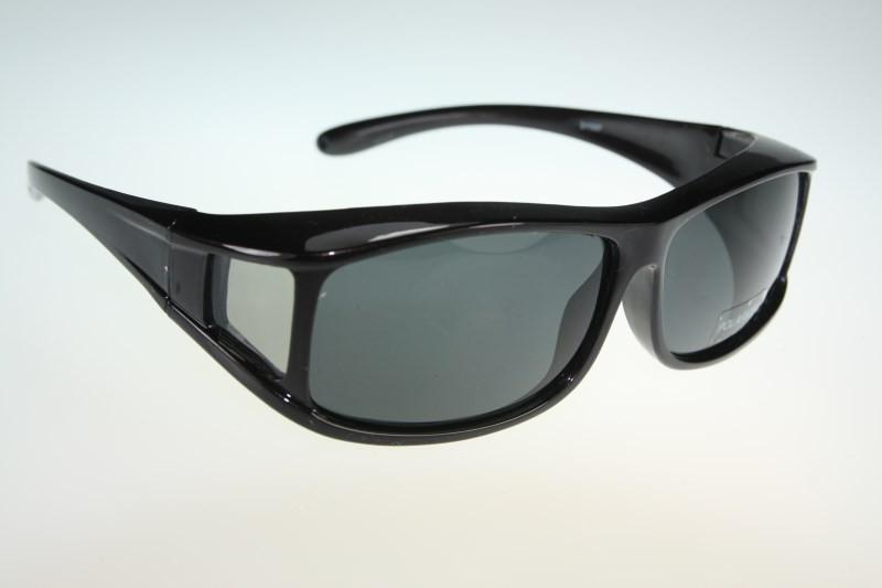 371 Polarized Plastic wraparound Sunglasses Clip wear fit ...