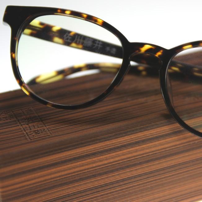 SAGAWA Fujii Plastic Glasses Japanese Plastic Round Frame ...