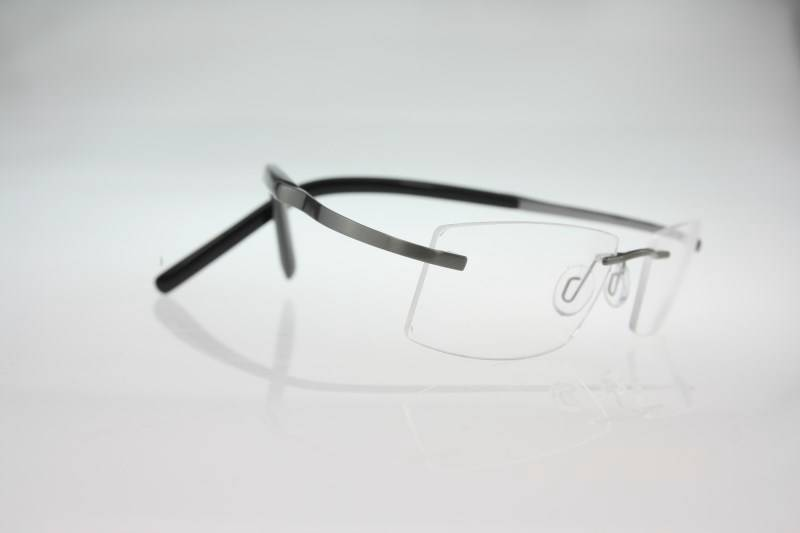 Flexible Betta titanium rimless RX eyeglasses Spectacle ...